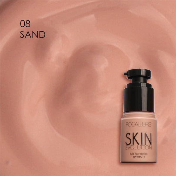 Focallure Face Foundation Makeup Base Liquid #08 Sand