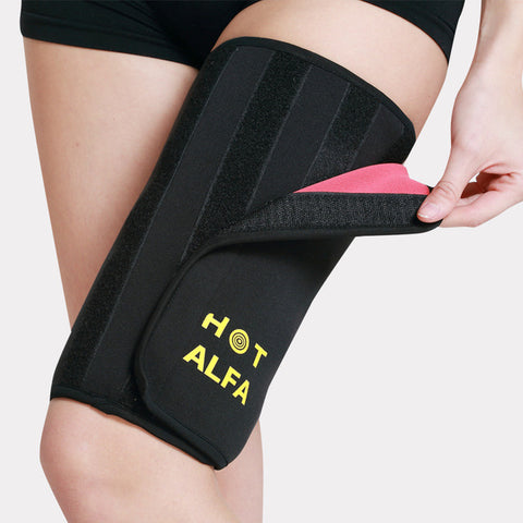 Slimming Leg Belt Wrap Sauna Sweat Thigh Massage Shaper