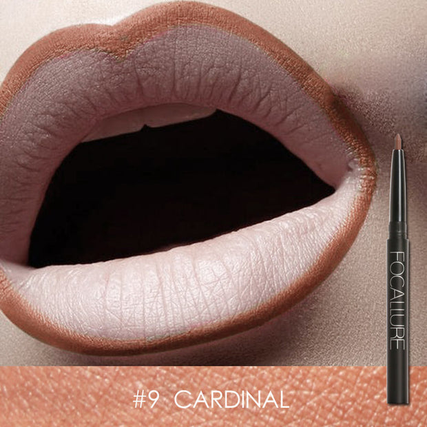 Focallure Waterproof Lip Liner - #9 Cardinal
