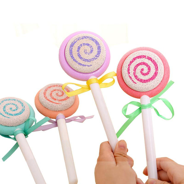Cute Lollipop Foot Scrubber