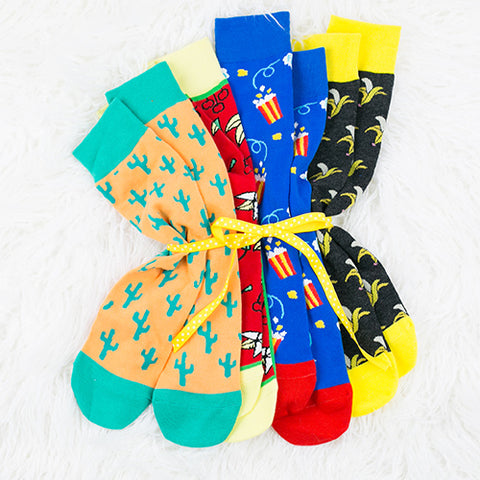 Graphic Socks Example