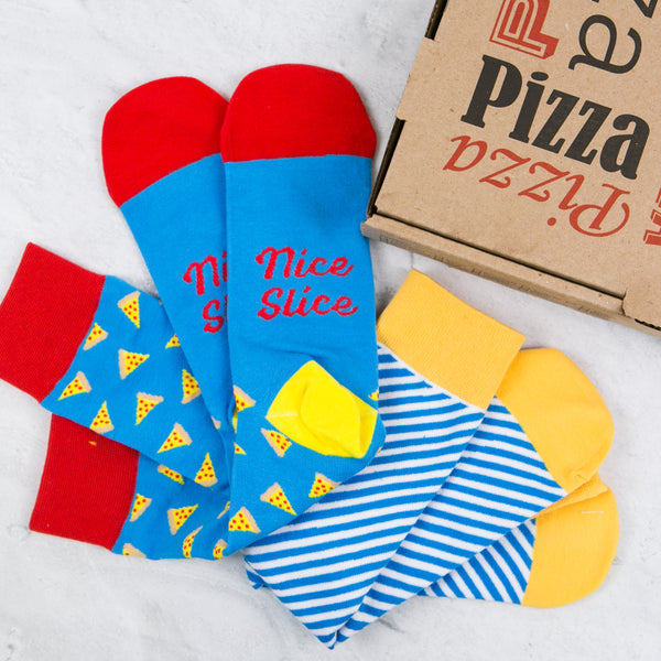 Every Pizza Lover Needs a Pair of Pizza Socks - Say it with