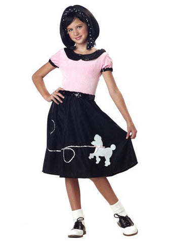 Sock Hop Costume with Socks