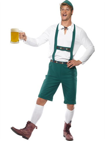 Lederhosen Halloween Costume with Socks