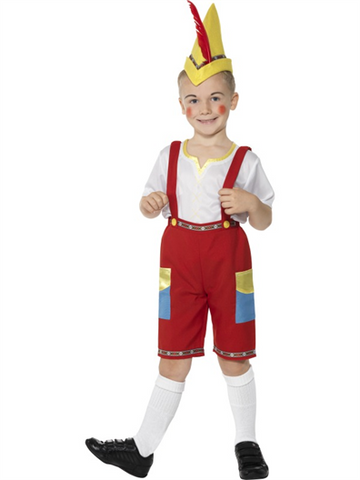 Pinocchio Costume with Socks