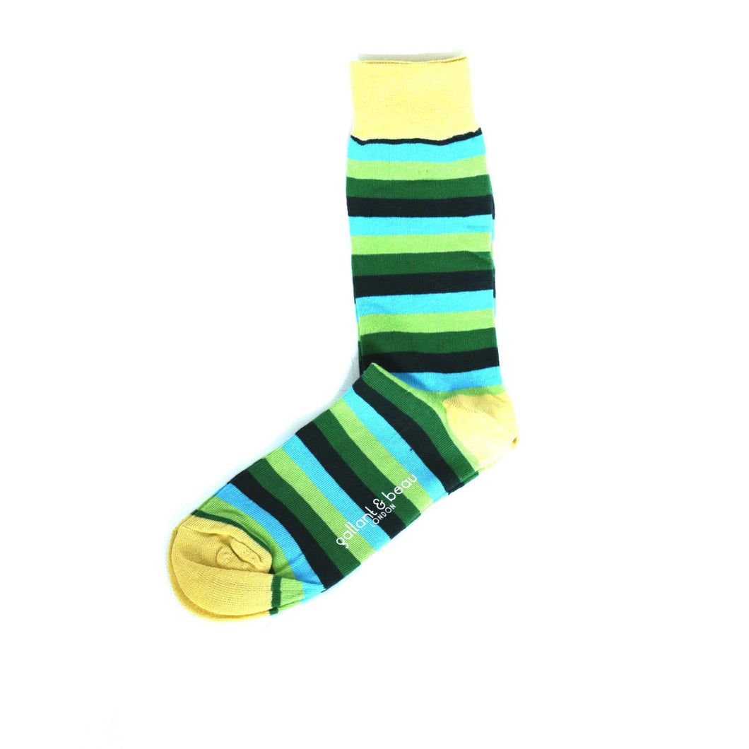 Beau - Green Socks by Gallant and Beau Socks by Gallant and Beau