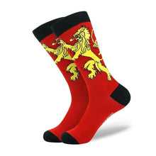Load image into Gallery viewer, Lannister Comfortable Cotton Socks HBO Game of Thrones