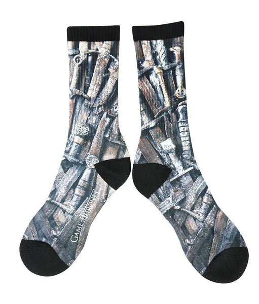 Swords Sublimated Socks HBO Game of Thrones