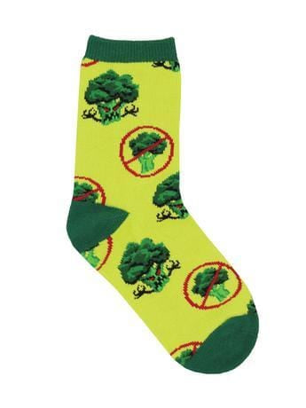 Broccoli Monster Socks fun sock