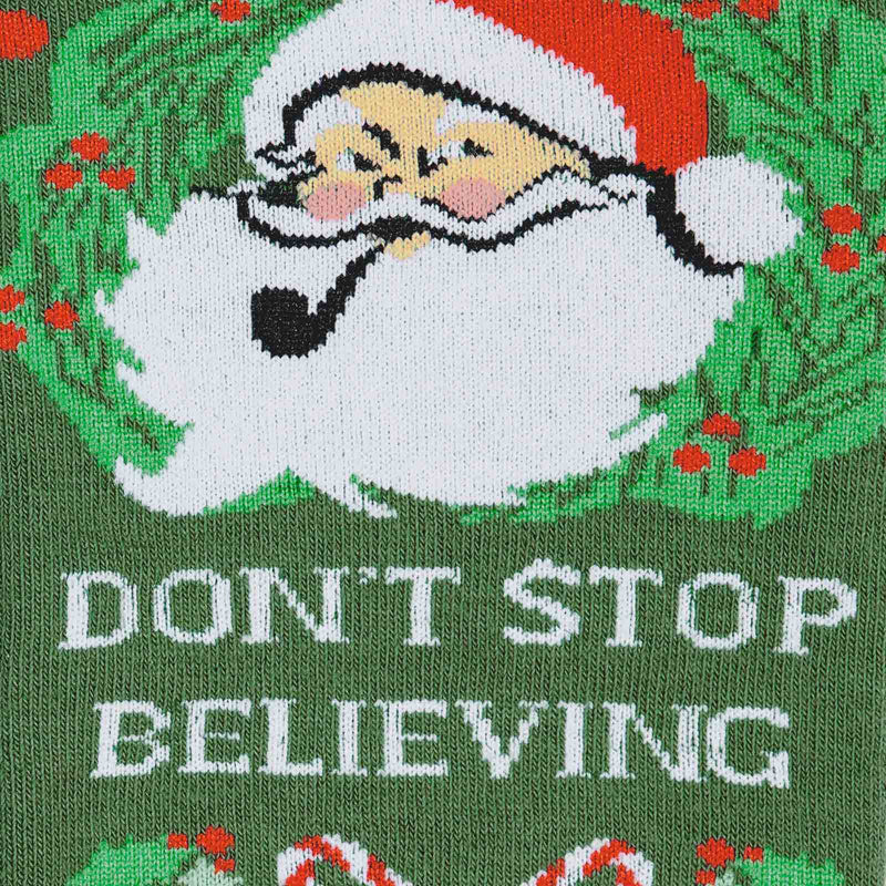 Don't Stop Believing fun sock