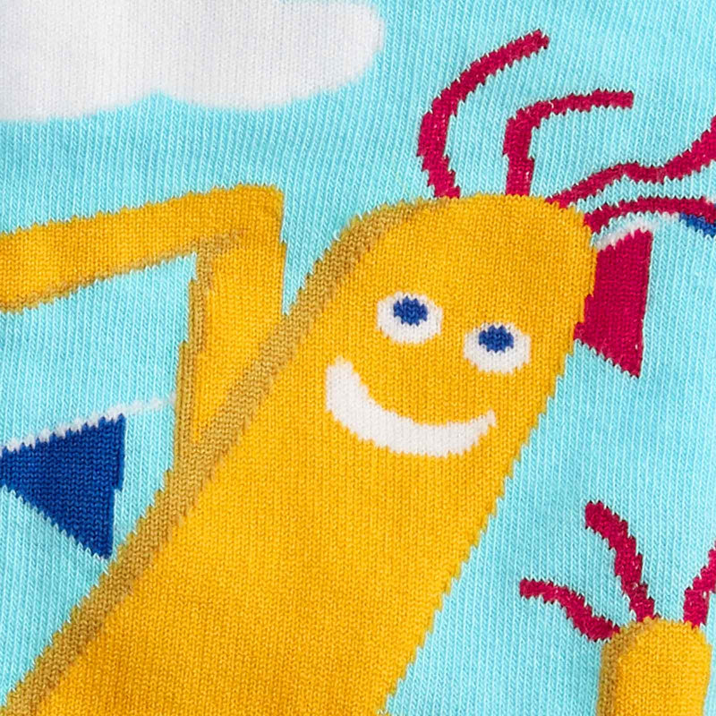 The Ecstasy of Mr. Wavy Arms fun sock