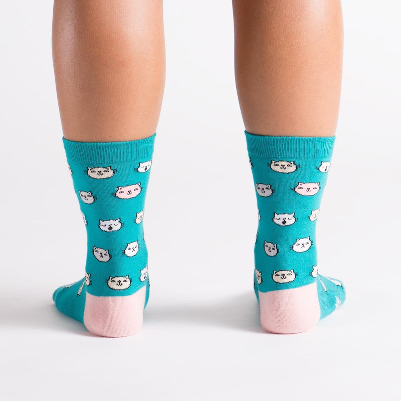 Feline Fine Cats fun sock