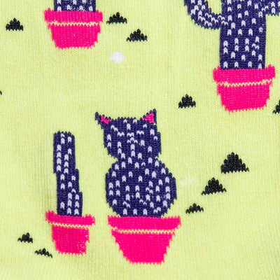 Catcus Womens Crew Sock