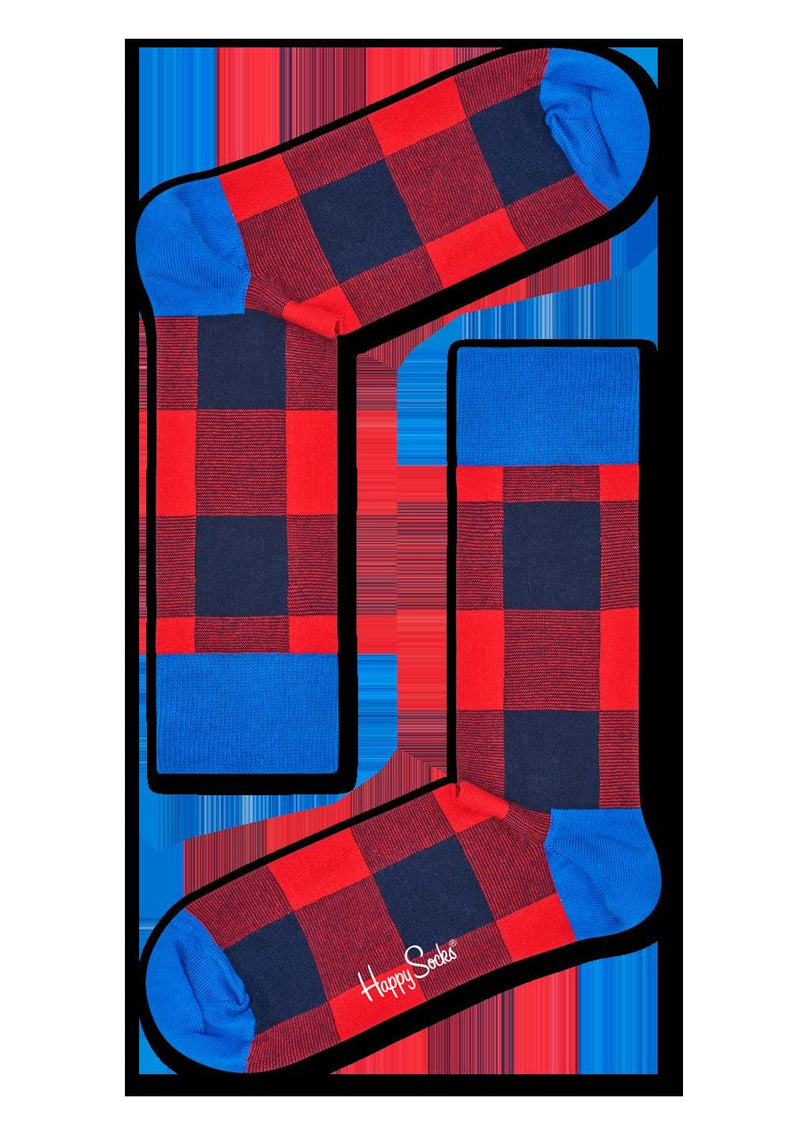 Lumberjack Gingham Sock fun sock