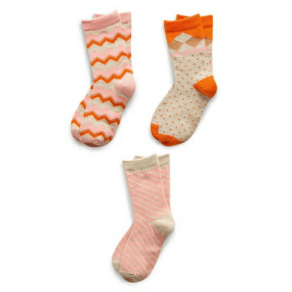 Assorted Girl's Pack of 3 Kids Socks Richer Poorer 9 - 11 Years G GSP-SS1507-L