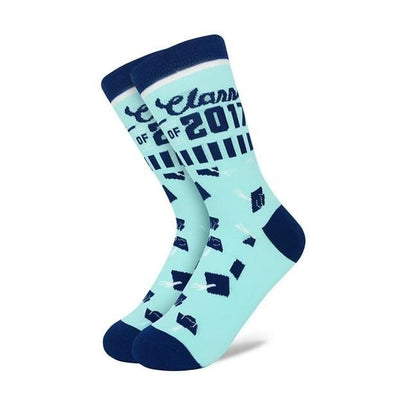 Class of 2017 Mens Crew Sock Bokkie