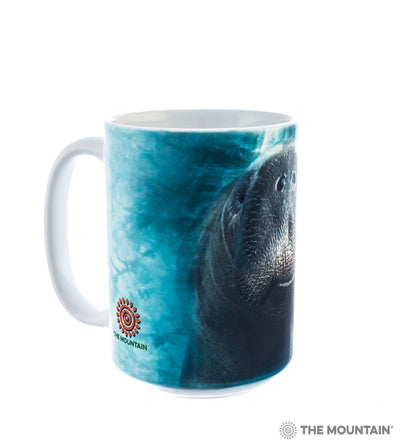 Big Face Manatee Mug 15oz