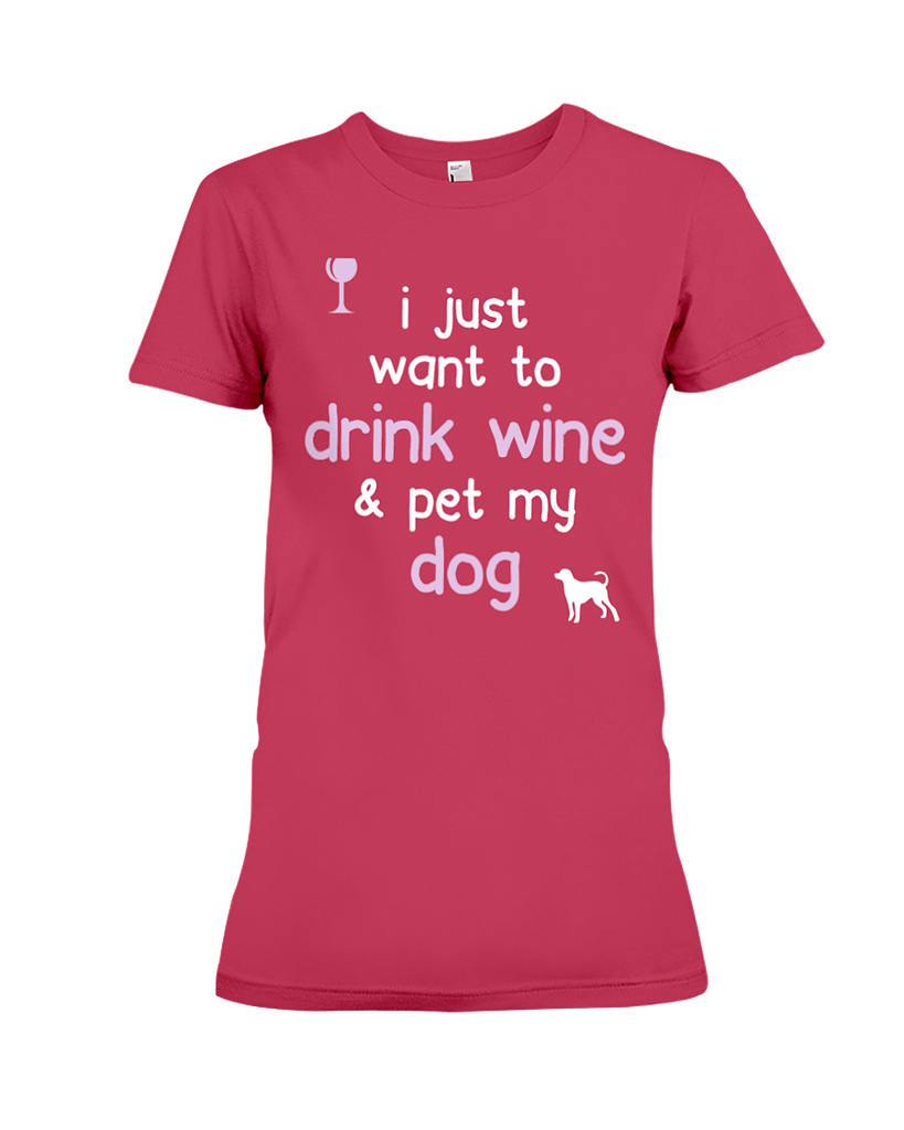Drink Wine & Pet My Dog
