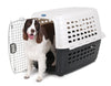Petmate Inc-Carriers-- Met White/black 19 In