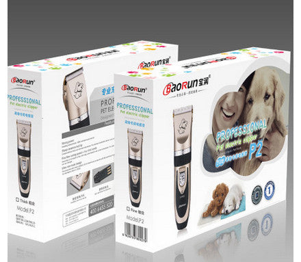 Professional Electrical Pet Clipper and Grooming Kit