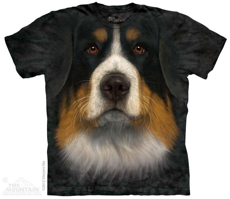 3614 Bernese Mountain Dog Face