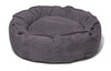 Nest Bed - Small-plum Suede