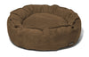 Nest Bed - Small-walnut Suede