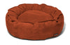 Nest Bed - Small-paprika Suede