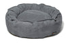 Nest Bed - Small-clay Suede
