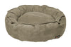 Nest Bed - Medium-stone Suede