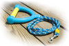 Paws Aboard Active Dog Water Ski Rope Leash - Blue - Yellow