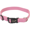 "Coastal Soy 1"""" Adjustable Dog Collar-rose, Neck Size 18""""-26"""""