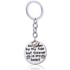 """No longer by my side but forever in my heart"" Keychain"