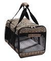 Airline Approved 'flightmax' Collapsible Pet Carrier- Jacquard Print