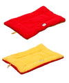 Eco-Paw Reversible Eco-Friendly Pet Bed- Orange And Red