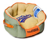 Touchdog Original Castle-Bark Ultimate Rounded Premium Dog Bed