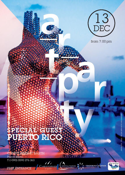 Art Party St Barthelemy