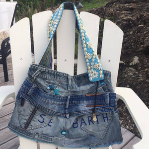 Sac jean coquillages