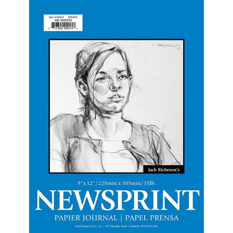 Jack Richeson's Rough Surface Newsprint Pad
