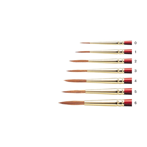 Winsor & Newton Sceptre Gold II Short Handled Brushes