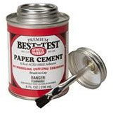 Best-Test White Rubber Paper Cement
