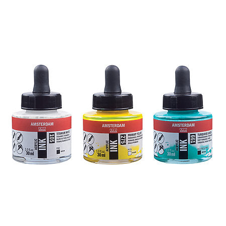 Royal Talens Amsterdam Acrylic Inks