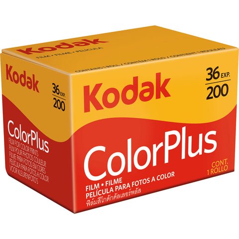 Kodak ColorPlus 200 Color Negative Film (35 mm)