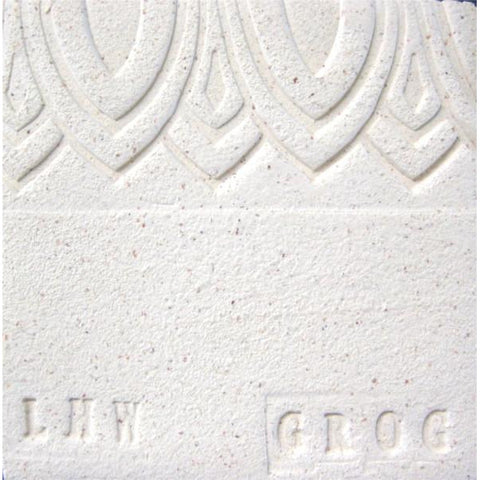 Armadillo Clay Longhorn White (with Grog)