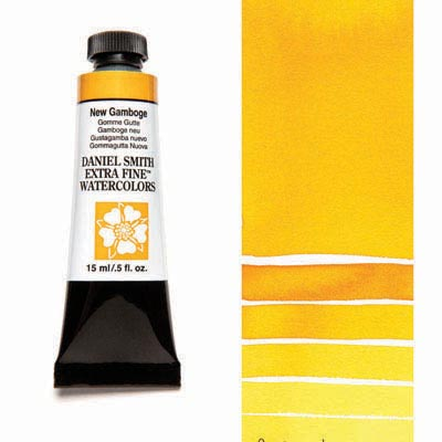 Daniel Smith Extra Fine Watercolor Tubes (Yellow Colors)