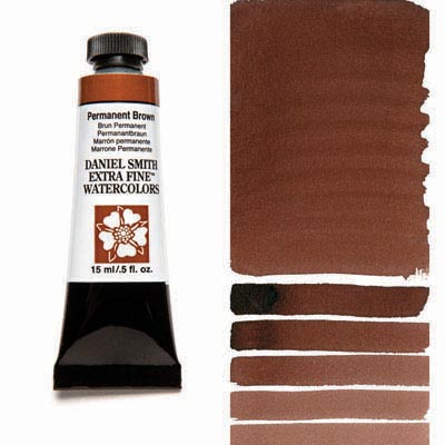 Daniel Smith Extra Fine Watercolor Tubes (Brown Colors)