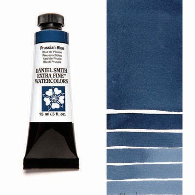 Daniel Smith Extra Fine Watercolor Tubes (Blue Colors)