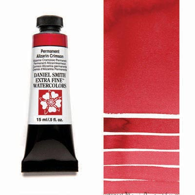 Daniel Smith Extra Fine Watercolor Tubes (Red Colors)