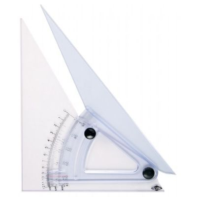 Alvin Computing Trig-Scale Adjustable Triangle
