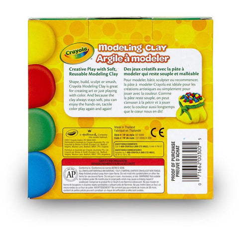 Crayola 4-Color Modeling Clay Set